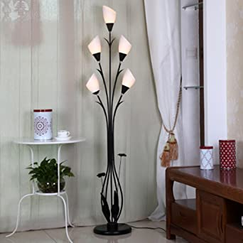 BEITE- Lampe de plancher de coin salon moderne en fer forgé ...