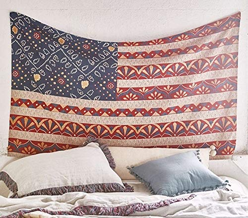Flag Of The United States Wall Tapestry Wall Decor Fabric Wall Hanging Home Decor,60