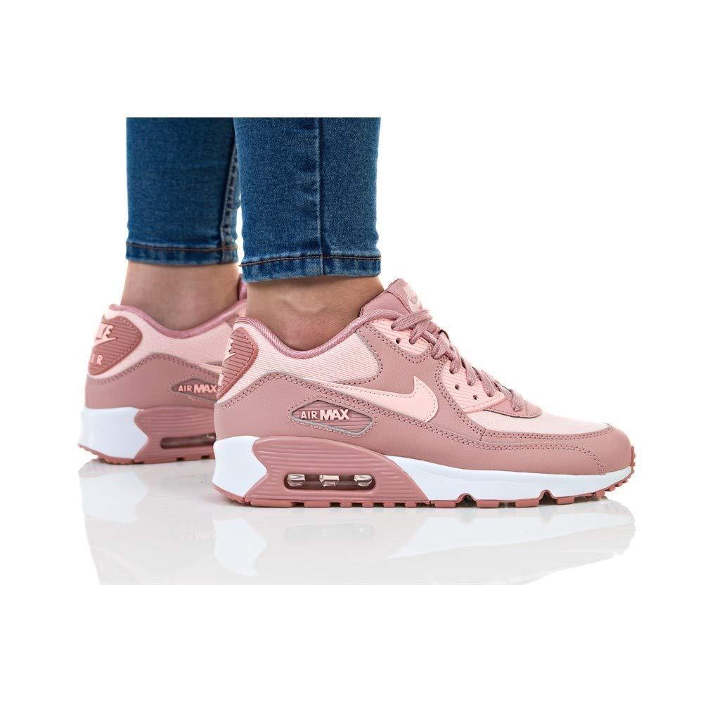 Nike Damen Air Max 90 Se Mesh (gs) Sneakers Mehrfarbig (Rust