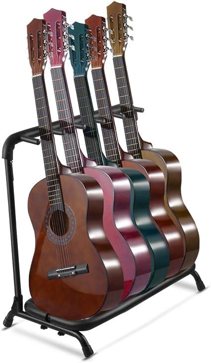 Multi Guitar Stand Soporte de múltiples instrumento pantalla ...