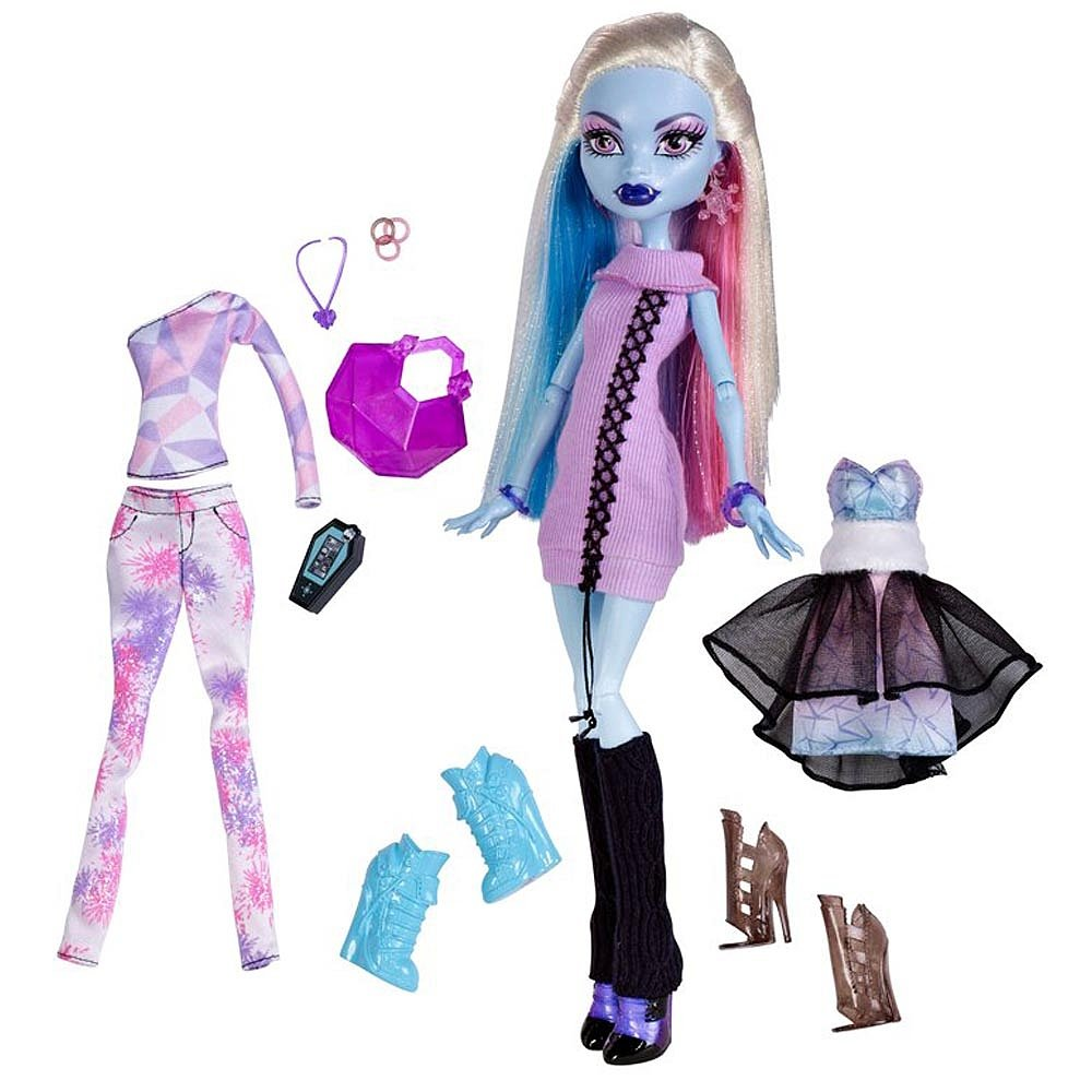 Uncategorized Monster High Abby amazon com monster high exclusive doll figure abbey bominable 3 frosty outfits toys games