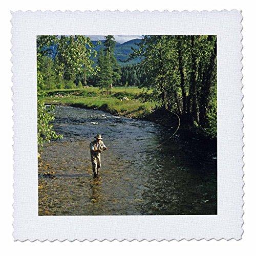 3dRose qs 91948 8 Fishing Creek Montana