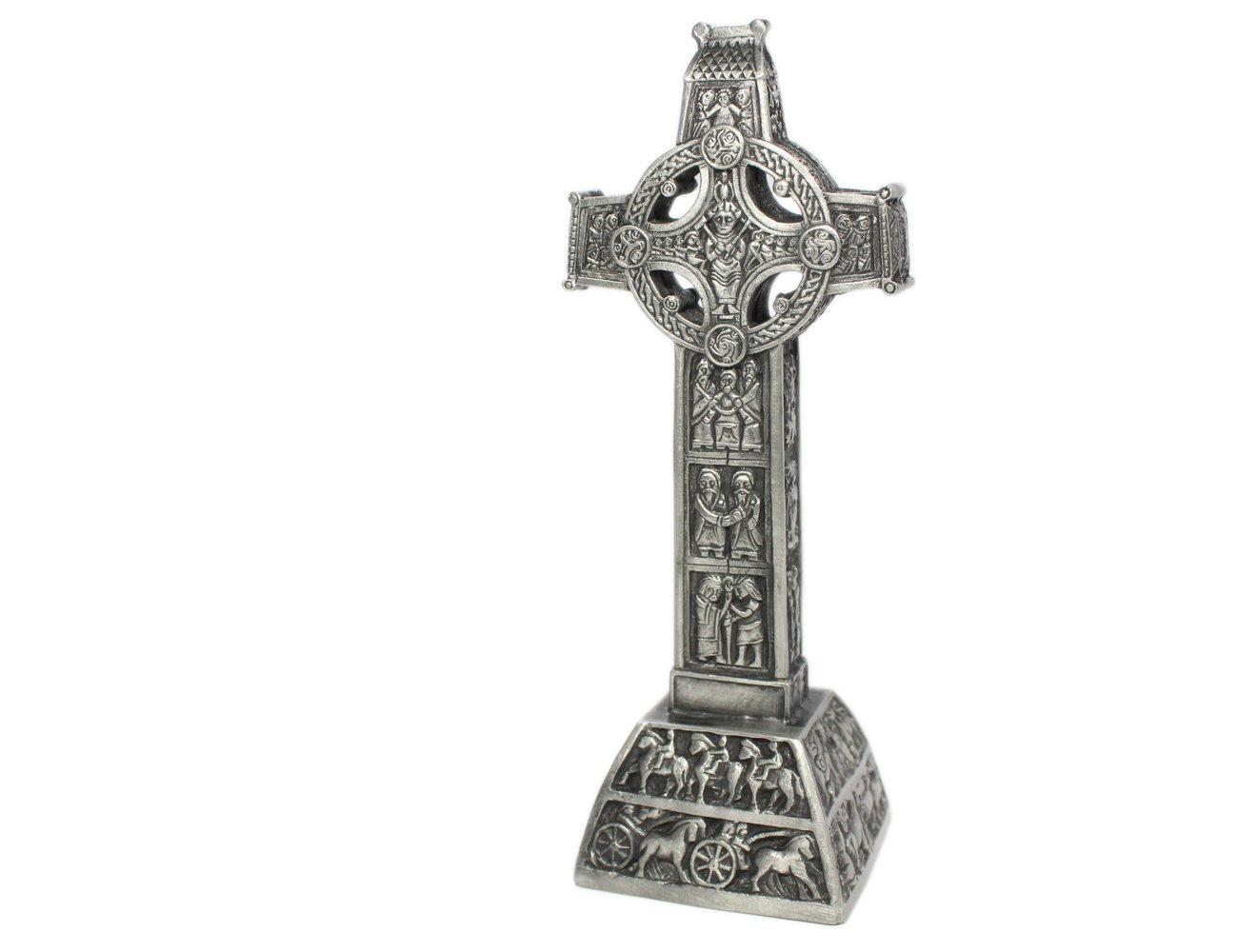 Carrolls Irish Gifts Mullingar Pewter Clonmacnoise Standing Cross
