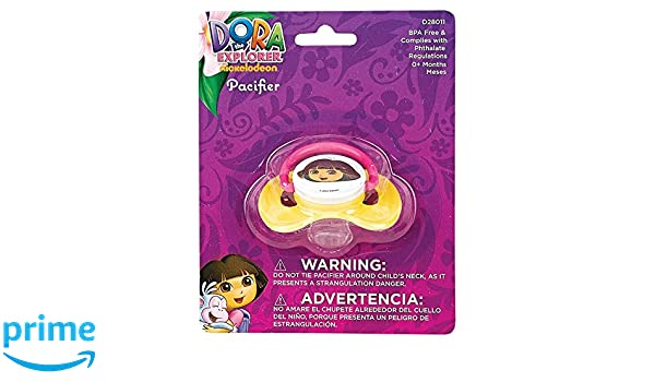 Nickelodeon Dora Pacifier