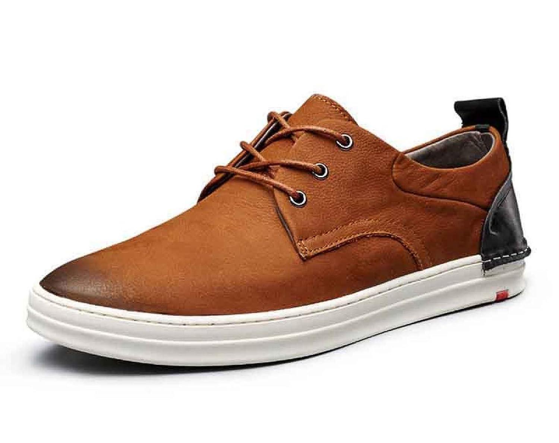 MUYII Herren Oxfords Wildleder Schuhe Für Männer Plain Toe Schuhe Casual Sport Mens Bequeme Schuhe