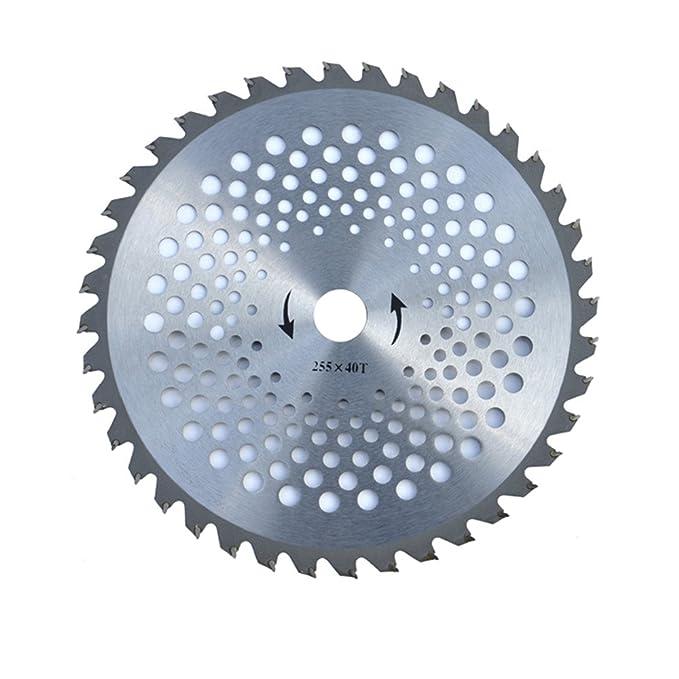 25,4 cm 40 dientes carburo Hoja de sierra circular ...