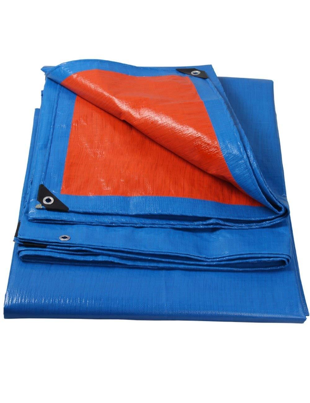 Fonly Telo di tela cerata blu arancio Telo Telo Telo per tenda da campeggio impermeabile Tarp (Dimensione   3m5m) B07GWVWLTS 3m5m | Forte calore e resistenza all'abrasione  | La prima serie di specifiche complete per i clienti  | Alta sicurezza  | caratteristica 12e354