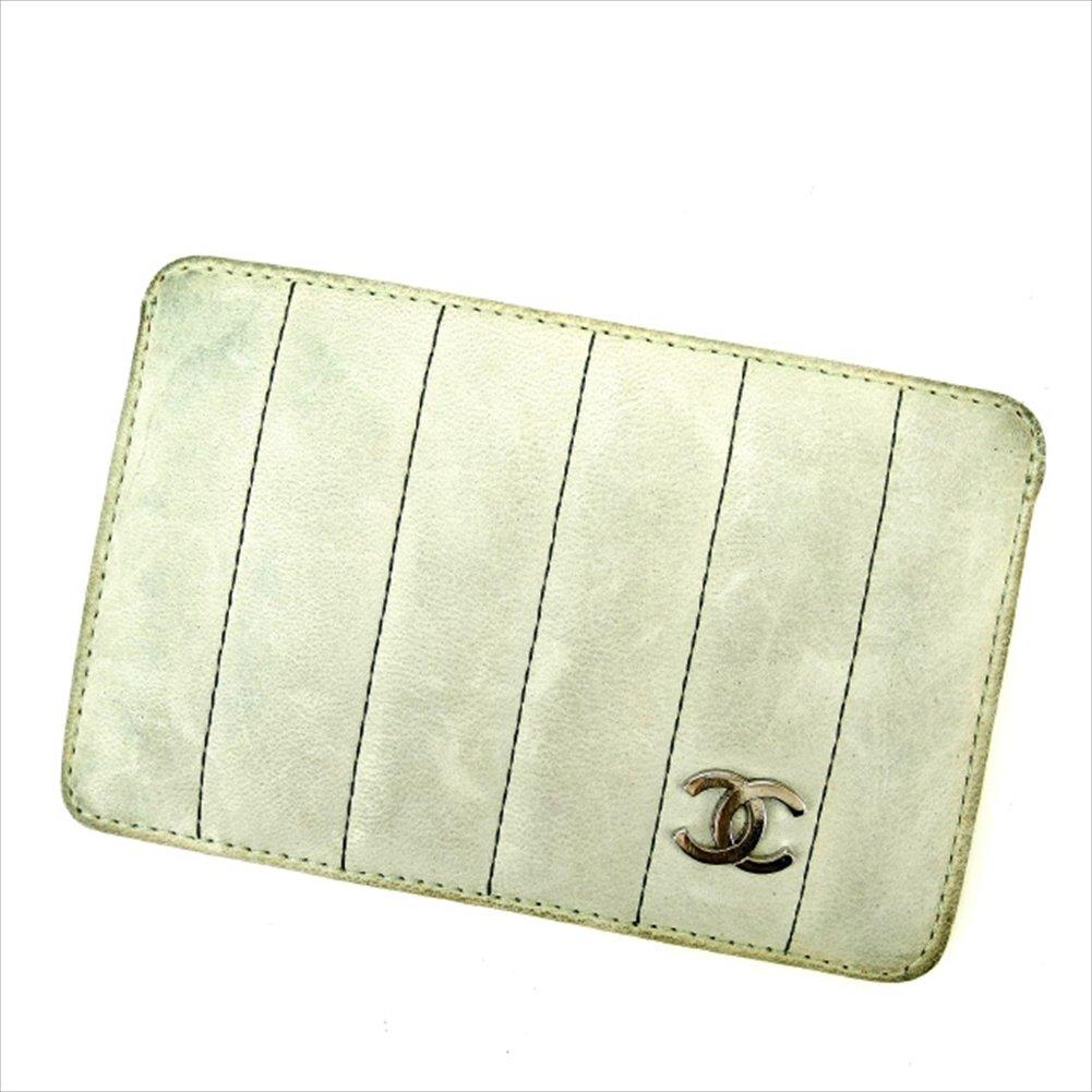 (シャネル) Chanel カードケース グレー ココマーク レディース 中古 F746   B019RKQLYM