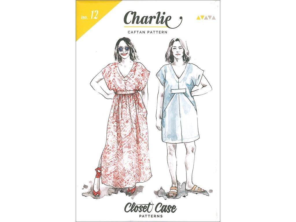Amazon.com: Closet Case Patterns CCP12 Closet Case Charlie Caftan Ptrn