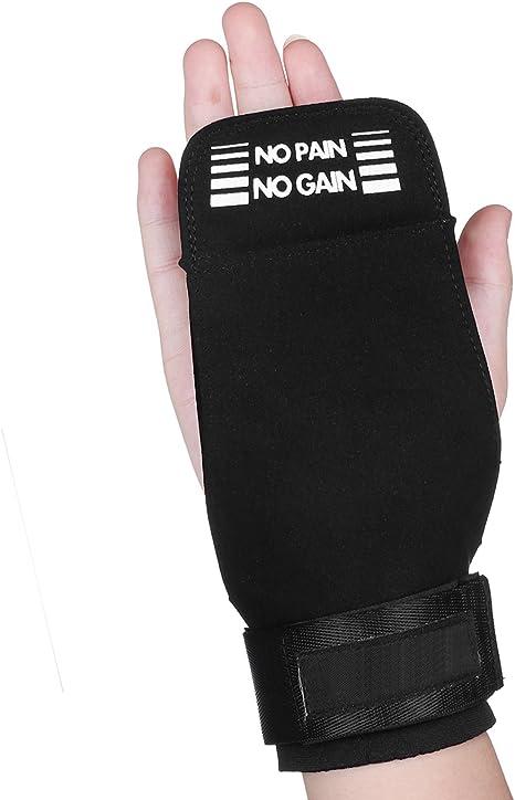 eizur Halterofilia pelota Grip Guantes Crossfit con soporte para ...