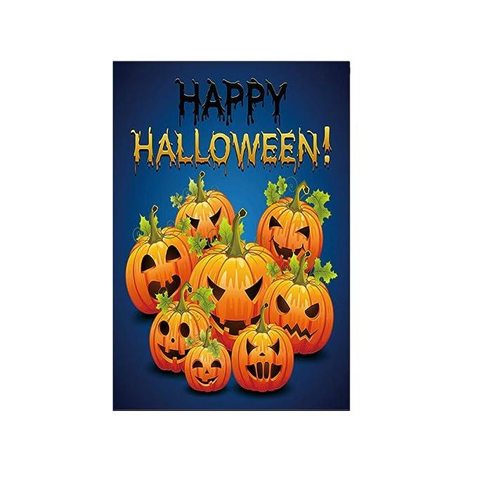 Heetey - Decoración para Halloween, murciélago, Calabaza ...