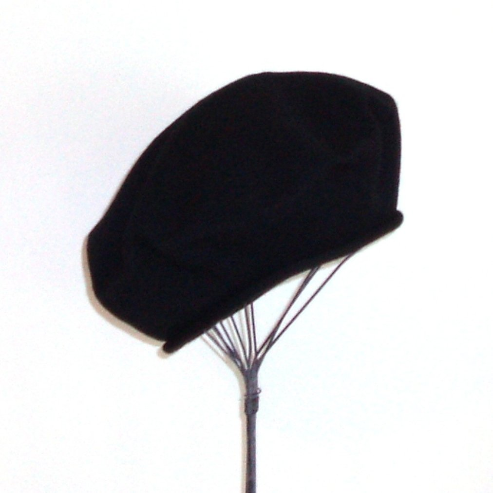 Parkhurst Classic French Beret (Adult)- 100% Cotton - Black