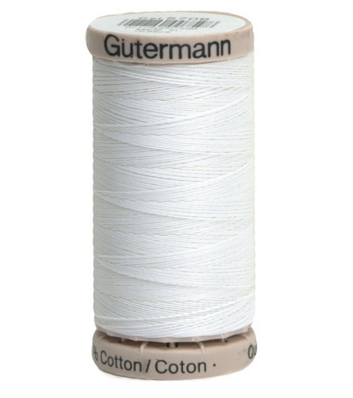 Quilting Thread 220yd-White Gutermann 201Q-5709