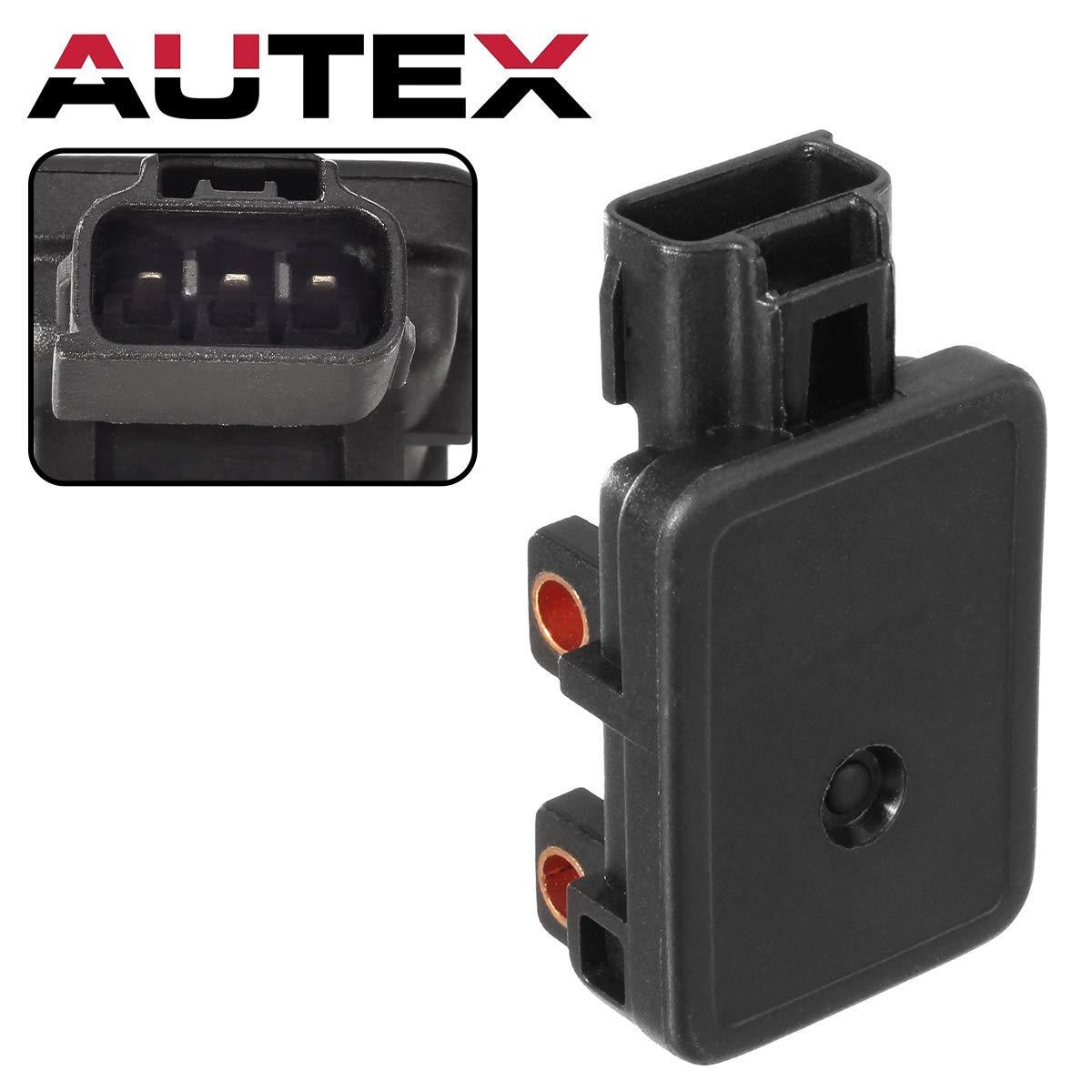 Autex 1x MAP Manifold Air Pressure Sensor AS88 AS88T compatible w/Dodge B1500 B2500 B3500 Dakota Durango Ram 1500, 1500 Van, 2500, 2500 Van, 3500, 3500 Van, Viper Jeep Cherokee Grand Cherokee TJ PartsSquare