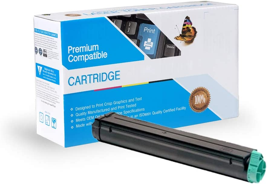 Black B4350 B4350N On-Site Laser Compatible Toner Replacement for Oki-Okidata 42102901 B4300N Works with: B4300