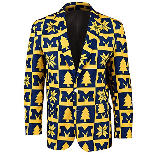 Michigan Patches Ugly Business Jacket - Mens Size 46