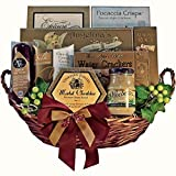 Grand Edition Gourmet Food and Snacks Gift Basket, Medium (Candy Option)
