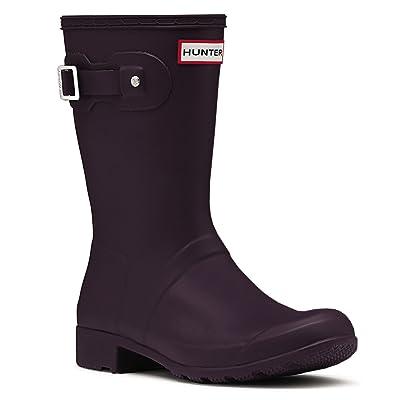 Hunter Women's Original Tour Short Packable Rain Boots   Rain Footwear