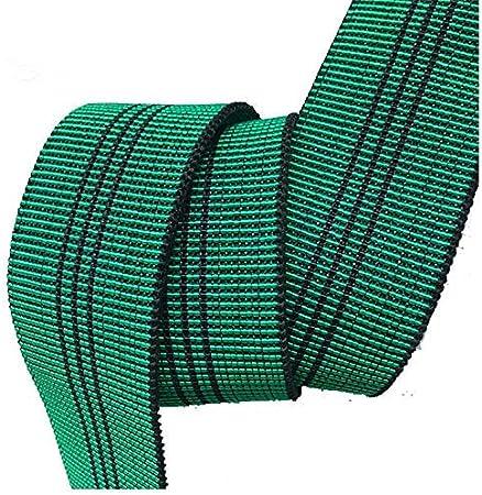 25 Meter Riemen Qualit/ät f/ür Sitzauflagen Auflage Gurtband Elastische Polsterstoff 60 mm