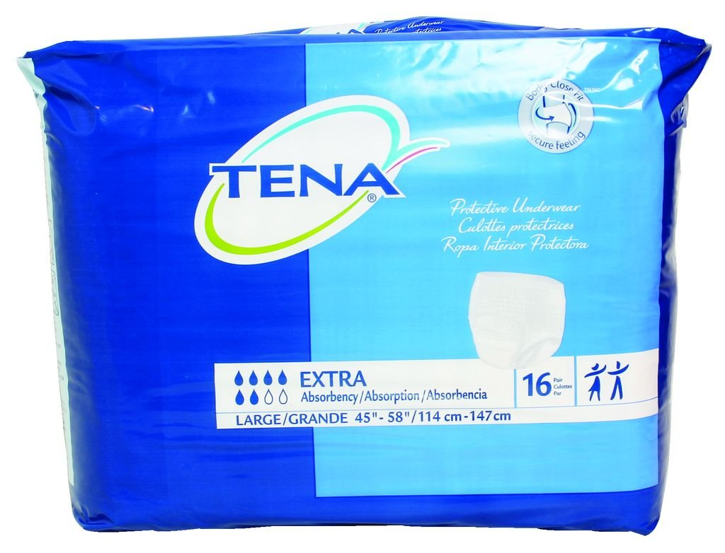 Amazon.com: TENA Protective Underwear, Extra Absorbency: Health & Personal Care