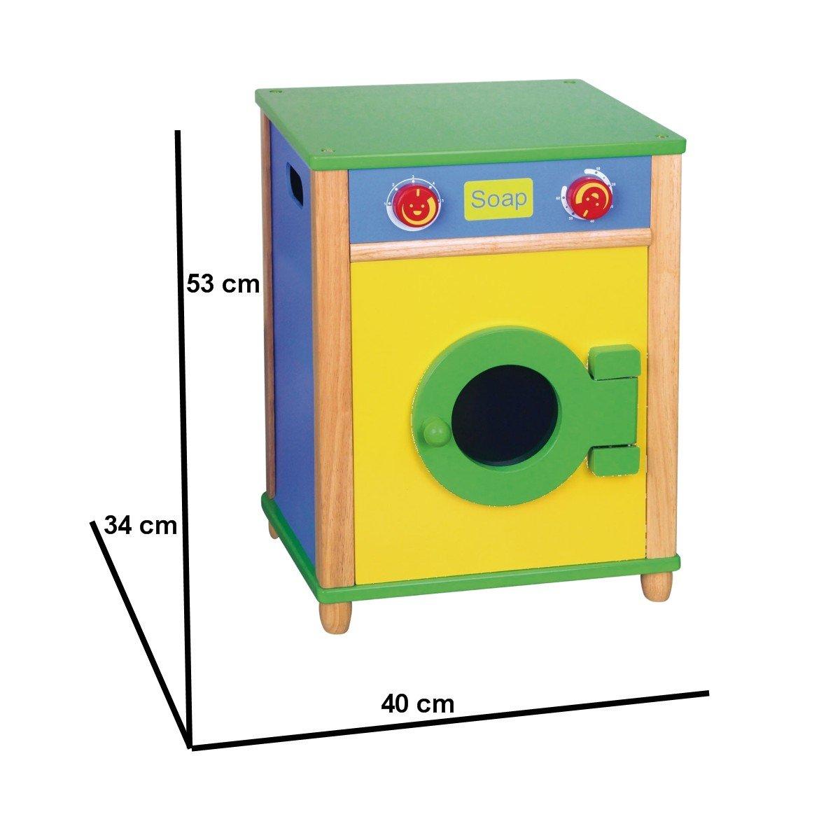 Cucina per bambini Lavatrice di Legno naturale: Amazon.it: Giochi ...