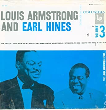 Louis Armstrong And Earl Hines   The Story Volume 3   Columbia   CL 853