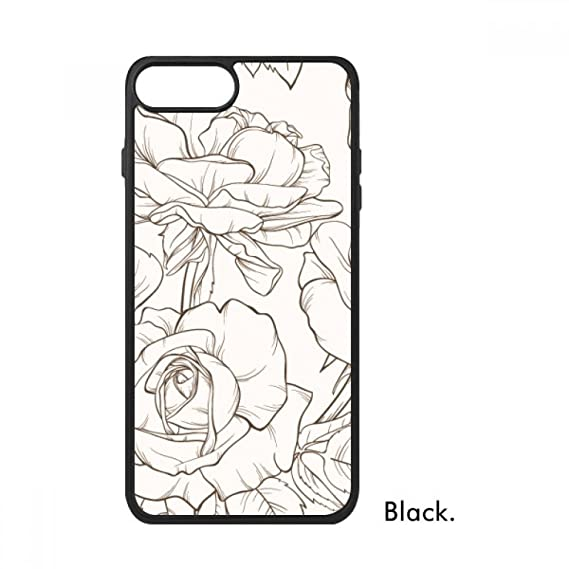 Amazon Com Line Drawing Drawing Art Plant For Iphone 7 Cases