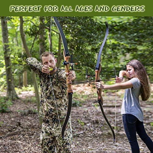 Keshes Takedown Hunting Recurve Bow