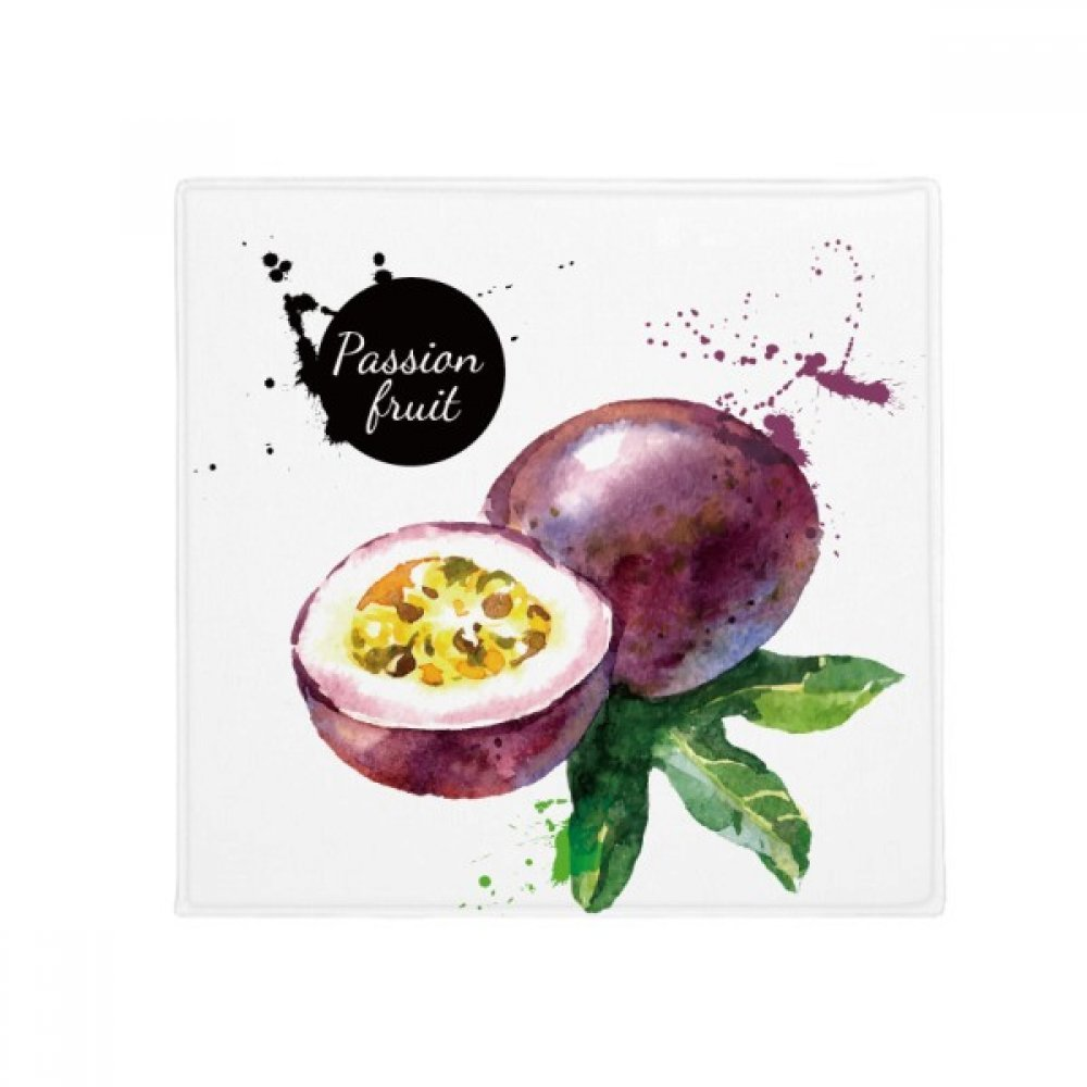 DIYthinker Passion Fruit Tasty Healthy Watercolor Anti-Slip Floor Pet Mat Square Home Kitchen Door 80Cm Gift