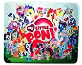 12 x 10 inches Pony Designed Anime Oh My Little Pony Cute Girl Office Mouse pad Mousepad mat