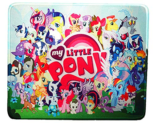 12 x 10 inches Pony Designed Anime Oh My Little Pony Cute Girl Office Mouse pad Mousepad mat - Girl Art Mouse Pad