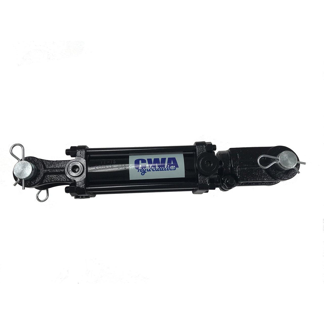 CWA Hydraulics TR Tie Rod Hydraulic Cylinder 3 1/2'' Bore x 36'' Stroke x 1 1/2'' Rod x SAE 8 Port x 2500 PSI
