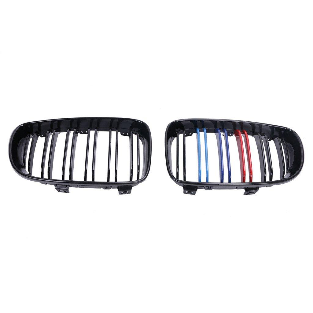 M-color Front Grill For BMW 1 Series E81 E87 E82 E88 128i 135i Tips4Wise Gloss Black
