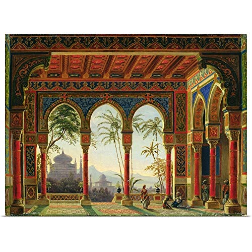 GREATBIGCANVAS Poster Print Entitled Stage Design for The Opera
