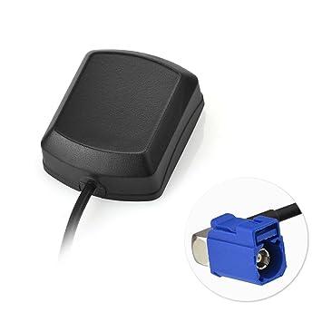 Toiot Antena GPS para Coche Fakra a SMA Adaptador RG174 Antena Conector Cable para Radio TechniSat