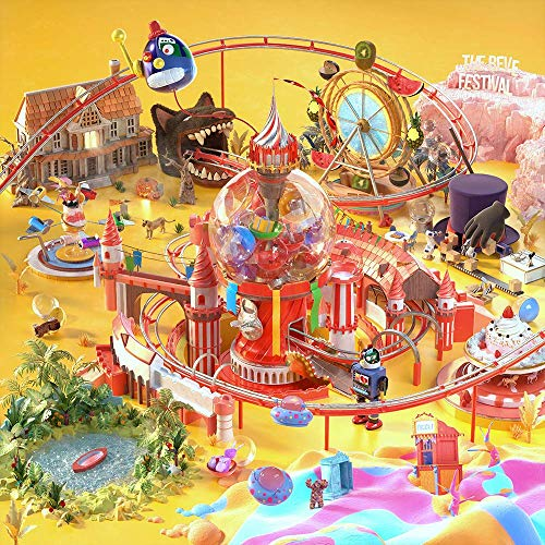 SM Entertainment RED Velvet - The Reve Festival Day 1 [Day 1 ver. Random Cover] CD+Photobook+Folded Poster+Extra Photocards ()
