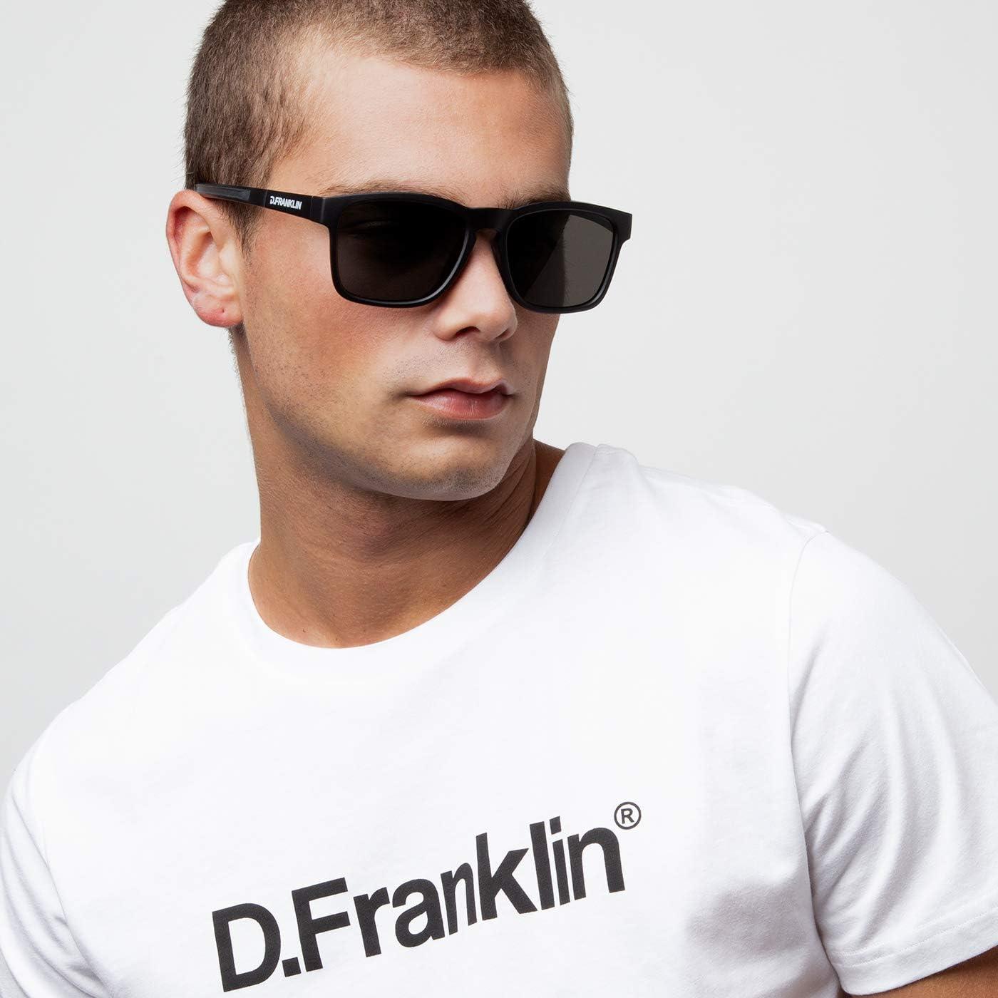 Black 53 Negro Franklin Unisex Adults/' Rider Sunglasses D