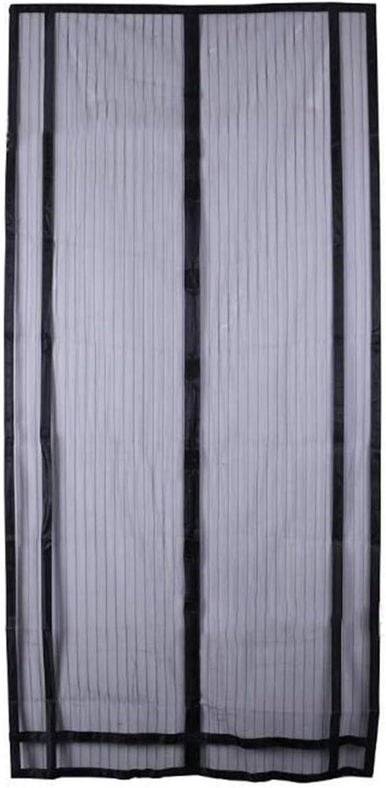 Cortina anti-mosquitos, puerta de pantalla suave magnética, pantalla de vidrio corredera anti mosquitos/insecto/mosca/guardapolvo Puerta de puerta francesa, manos libres, admite mascotas: Amazon.es: Bricolaje y herramientas
