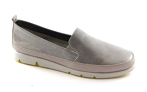zapatos grises Grünland MILI SC1375 de perlas se deslizan en los mocasines 41: Amazon.es: Zapatos y complementos