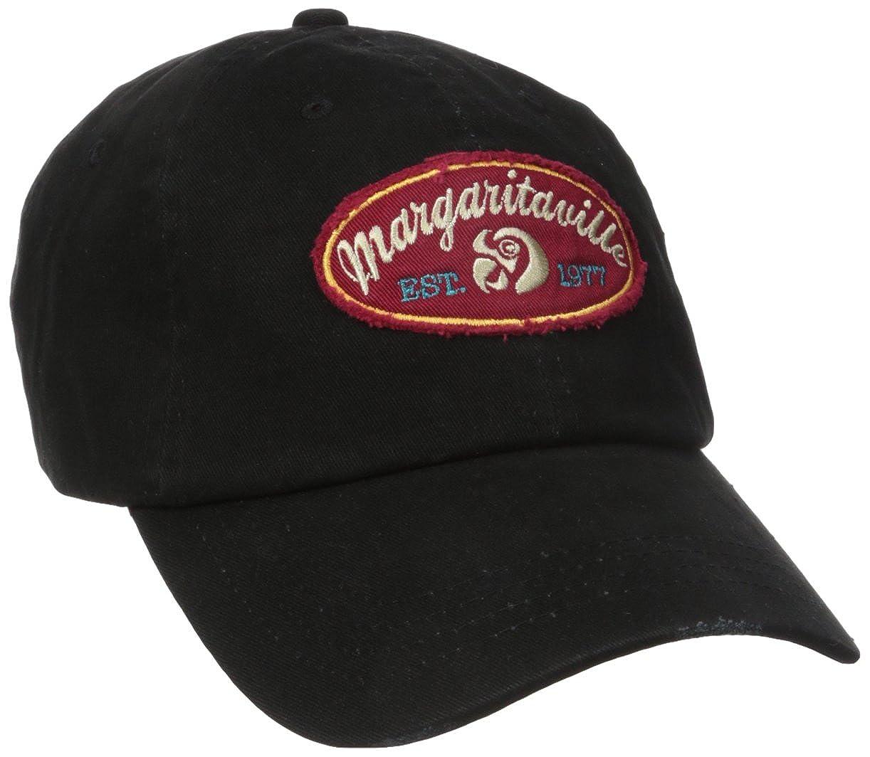 Margaritaville Men's MV Patch Hat Black One Size MVM153003