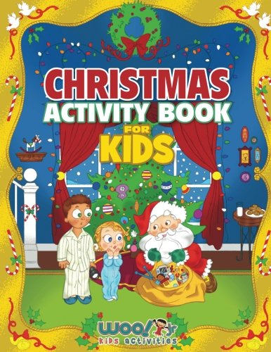 Christmas Activity Book for Kids: Reproducible Games, Worksheets ...