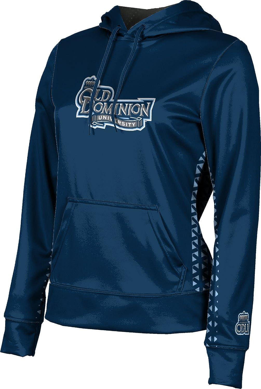 Old Dominion University Girls Pullover Hoodie Geo School Spirit Sweatshirt