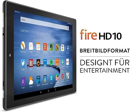 Fire Hd 10 Zertifiziert Und Generalüberholt 26 7 Cm 10 1 Zoll Hd Display Wlan 32 Gb Schwarz Mit Werbung Vorherige Generation 5 Amazon Devices
