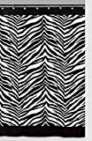 Creative Bath Zebra Shower Curtain, Black - Best Reviews Guide