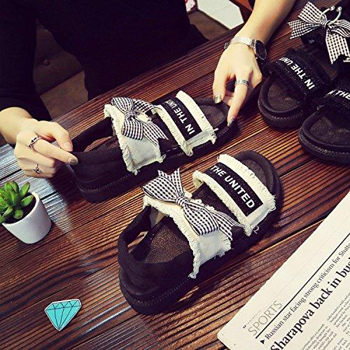 LGK&FA Zapatos De Mujer Comodidad Sandalias Casual Transpirable Transpirable Transpirable Transpirable Personal Dulce Dulce Dulce Y Zapatos De Mujer 37 Metros De Blanco 37 meters of white