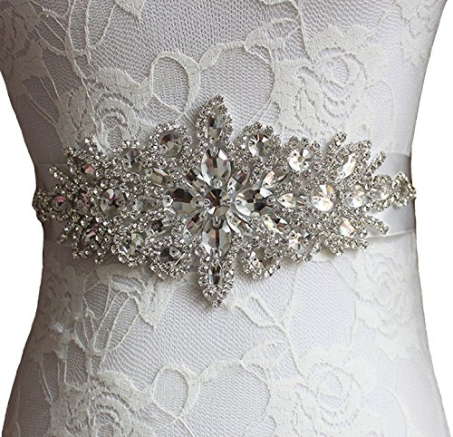 Now and Forever Bridal Wedding Dress Belts and Sashes for Party Prom Evening Dresses (Now And Forever Bridal)
