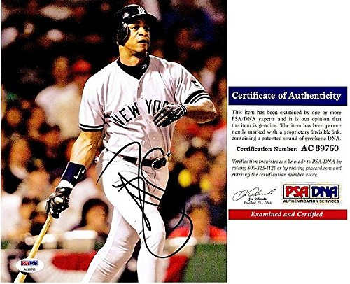 Darryl Strawberry Yankees - Darryl Strawberry Autographed Signed New York Yankees 8x10 Photo - PSA/DNA Authentic