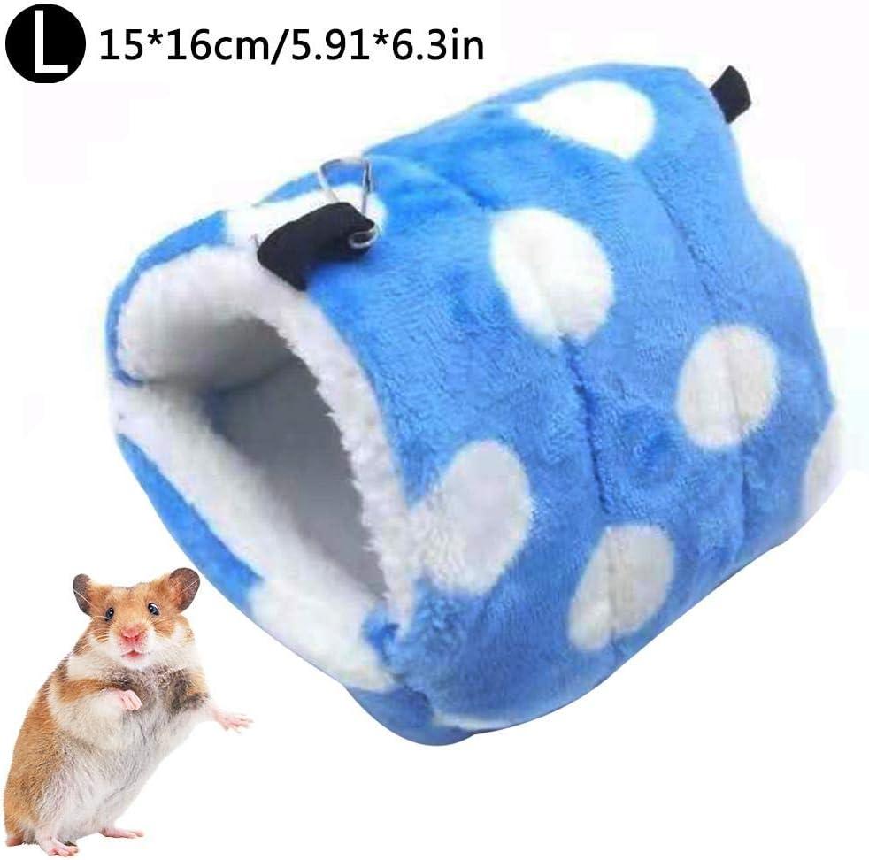 Bestlle Hamster Hamaca para Colgar, Cama pequeña para Mascotas, Cama Nido de algodón para Mascotas, Chinchillas, Saco de Dormir cálido: Amazon.es: Productos para mascotas