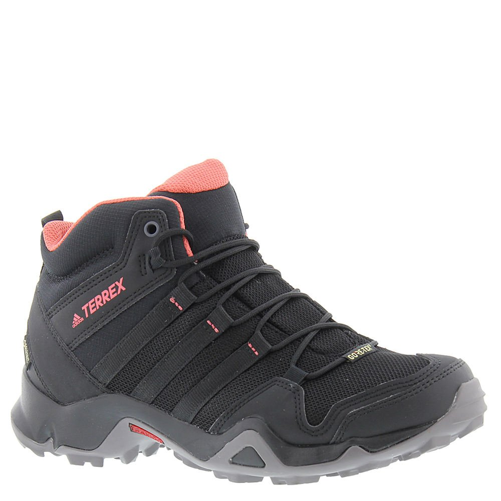 adidas outdoor Women's Terrex AX2R Mid GTX Black/Black/Tactile Pink Athletic Shoe