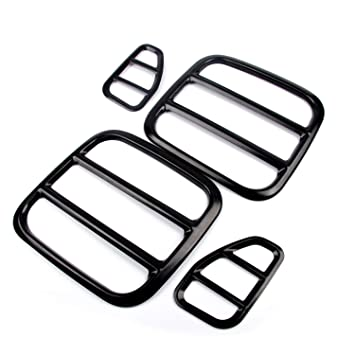 Amazon Com Yoursme Fit For Jeep Renegade Tail Light Covers Black